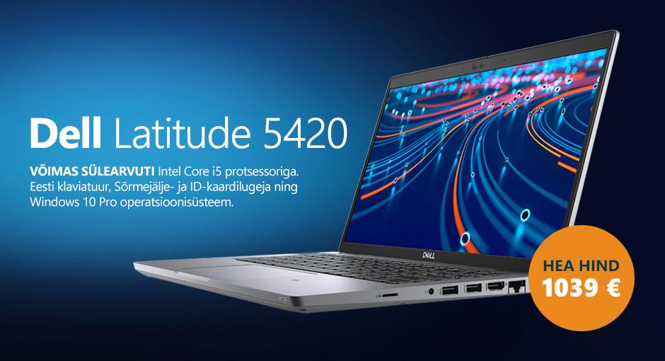 Dell Latitude 5420 sülearvuti HEA HIND