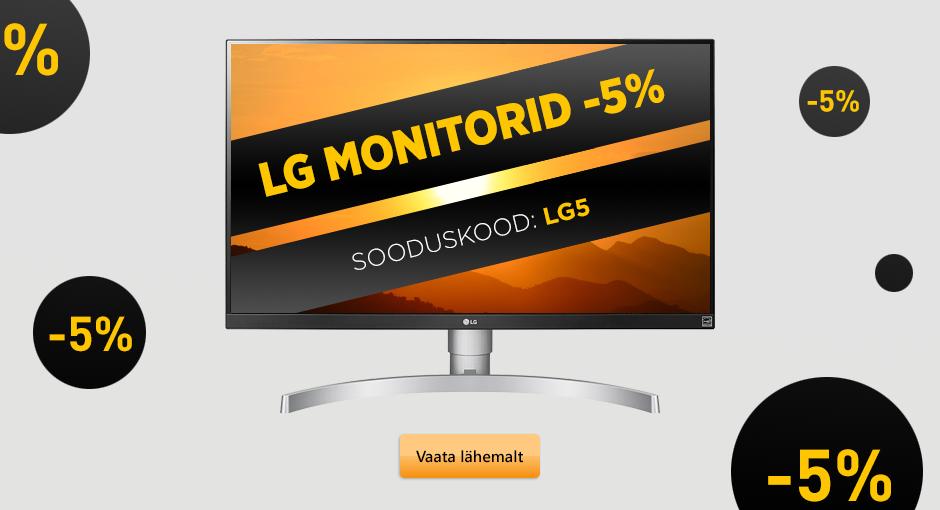 LG monitoride allahindlust