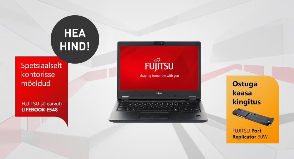 Sülearvuti Fujitsu Lifebook E548 koos dokiga