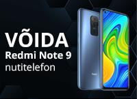 Võida Redmi Note 9 nutitelefon