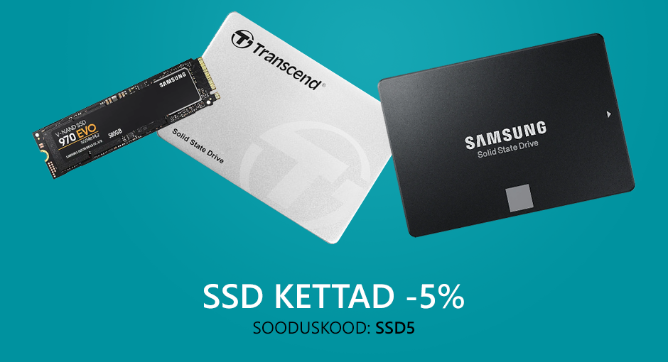 Soodushinnaga SSD kettad
