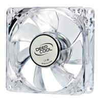 deepcool Xfan 80 mm,  transparent frame