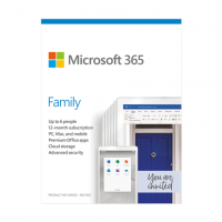 Microsoft 365 Family 6GQ-01151 Up to 6 P
