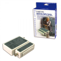 Logilink Cable tester for RJ45 and BNC w