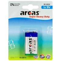 Arcas 9V/6LR61, Super Heavy Duty, 1 pc(s