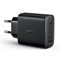 Aukey Wall Charger PA-F3S  Mini USB-C, 2