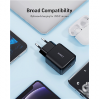 Aukey Wall Charger PA-R1 Mini USB-C, 20