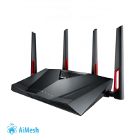 Asus Router RT-AC88U 802.11ac,  1000+216