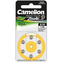 Camelion A10/DA10/ZL10, Zinc air cells,