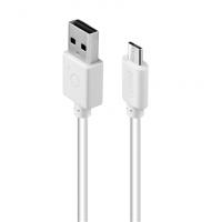 Acme Cable CB1011W 1 m, White, Micro USB