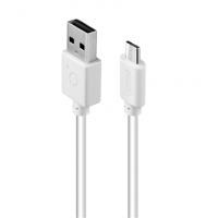 Acme Cable CB1012W 2 m, White, Micro USB