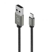 Acme Cable CB2011G 1 m, Space Gray, Micr