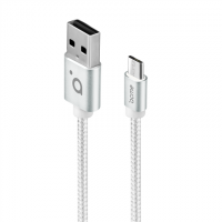 Acme Cable CB2011S 1 m, Silver, Micro US