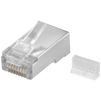 Goobay 68079 RJ45 plug, CAT 5e STP shiel