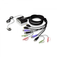 Aten 2-Port USB HDMI/Audio Cable KVM Swi