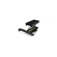 Icy Box IB-PCI214M2-HSL PCIe extension c