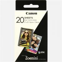 Canon 20 sheets ZP-2030 Photo Paper, Whi