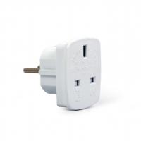 Gembird AC power adapter, UK socket to E