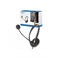 Logilink Stereo Headset Earphones with M