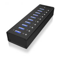 Raidsonic 10 port USB 3.0 Hub Icy Box IB