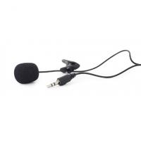 Gembird Clip-on microphone MIC-C-01 Blac