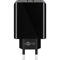 USB seinalaadija Goobay QC3.0