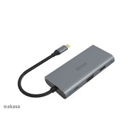 Akasa USB-C dock 9-in-1