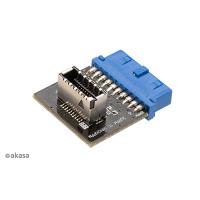 Akasa USB3.0 19pin to USB3.1