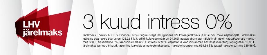 LHV 0% intress